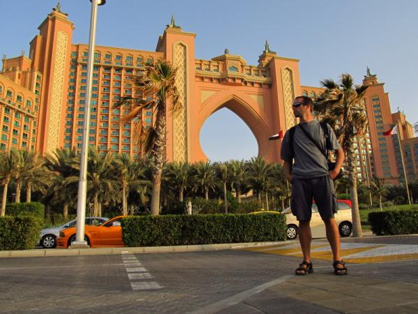 Atlantis Hotel on the palm Jumeirah Island