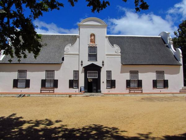 Groot Constantia - the oldest vineyard in Cape Town