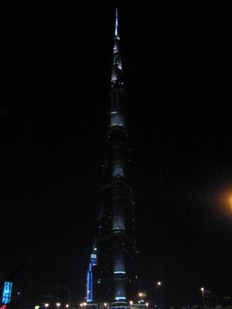 Burj Khalifa - the highest building in the world. 828m