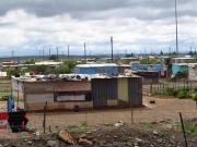 Slums before Victoria West
