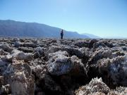 32-Death Valley. Salt crystals